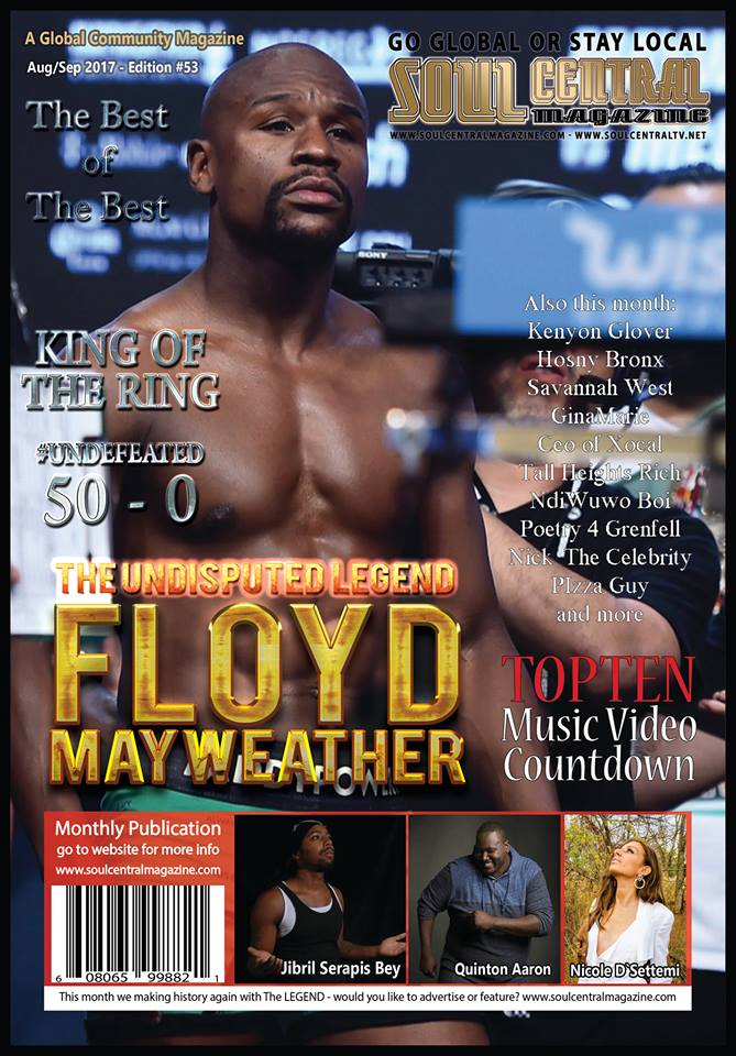 Soul Central Magazine #Legend #Floyd #Mayweather #Tribute 53rd Edition