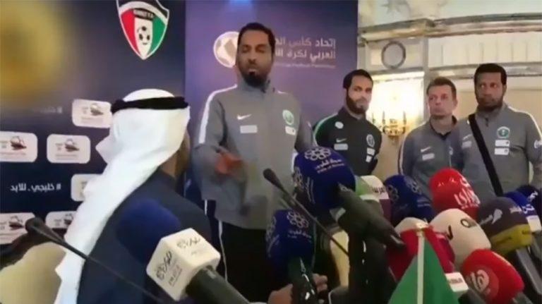 Saudi footballers shun media due to Qatar news channels