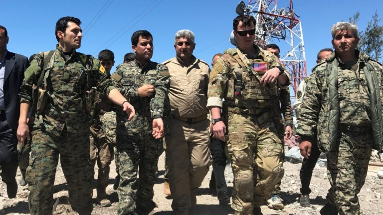 Turkey 'summons top US diplomat' over Syria Kurd forces