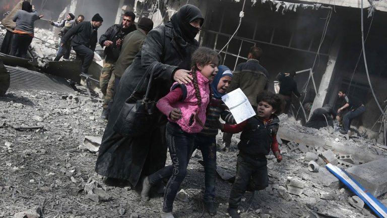 UN delays vote on Syria ceasefire as death toll climbs to 500