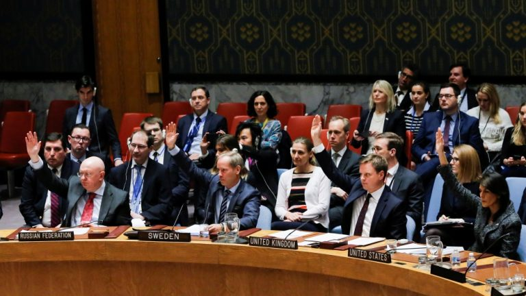 UN Security Council votes in favour of 30-day Syria ceasefire