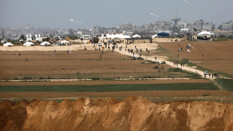 Palestinian farmer killed by Israeli strike in Gaza