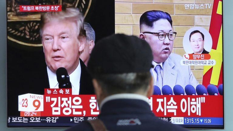 South Korea's Moon: Three-way summit with N Korea, US possible