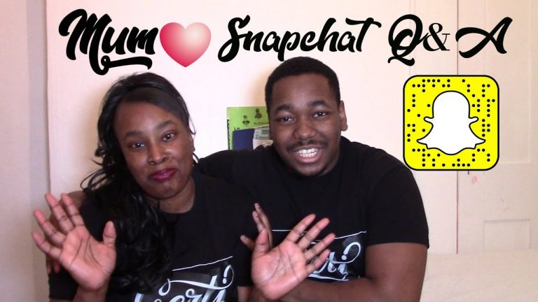 ShykoTalks ~ Mother's Day Special!   Snapchat Q&A With Mum!!