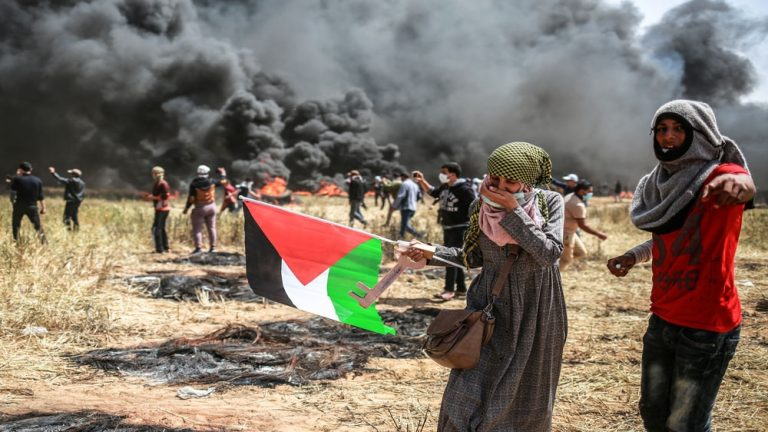 Can Palestinian protests achieve anything?
