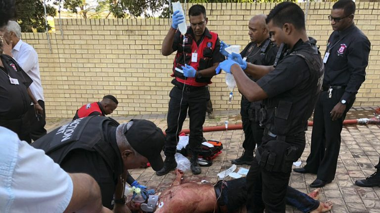 1 killed, 2 critically wounded in South Africa mosque attack