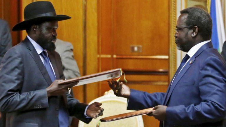 South Sudan rebel chief meets President Kiir in Ethiopia