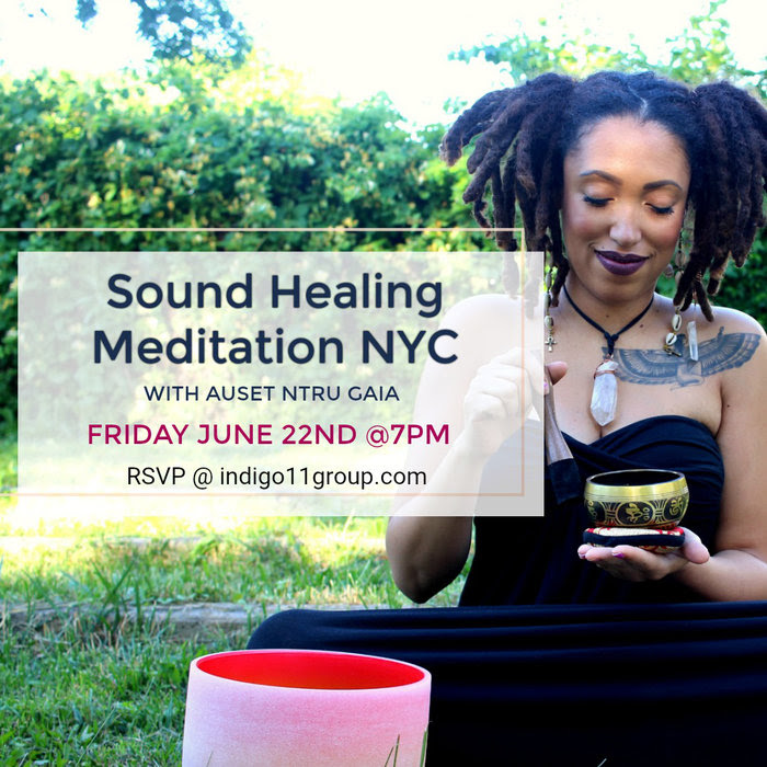 """Sound Healing Group Meditation & Deep Discussion"" Friday ..."