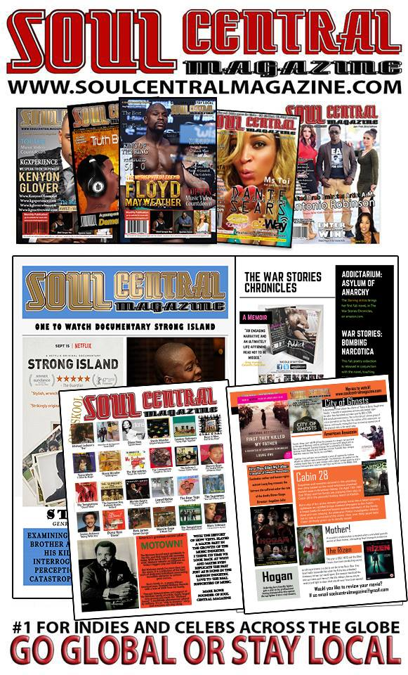 Book your Photo Shoot and Magazine Interview ~ Soul Central Magazine: