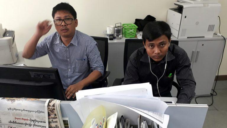 Myanmar charges Reuters reporters under Official Secrets Act