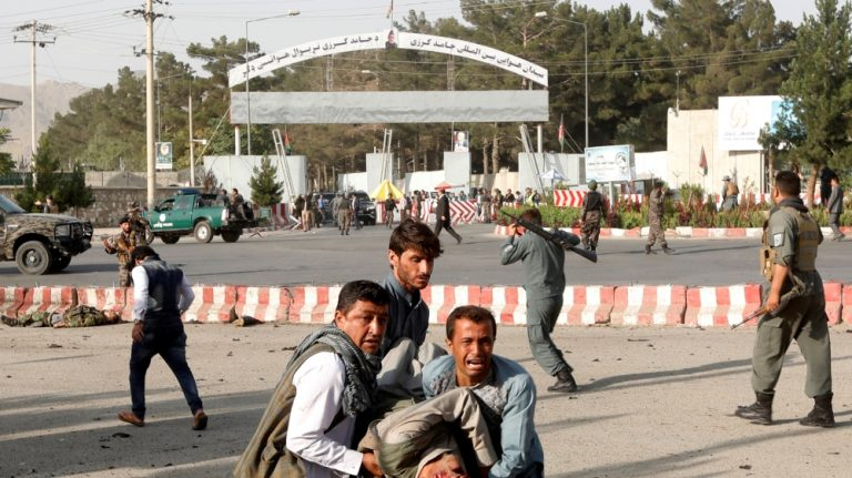 Several dead in Kabul suicide blast as exiled VP Dostum returns