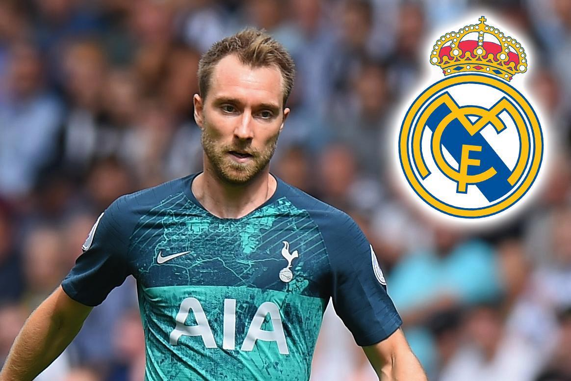 Real Madrid Target Tottenham Star Christian Eriksen As Potential