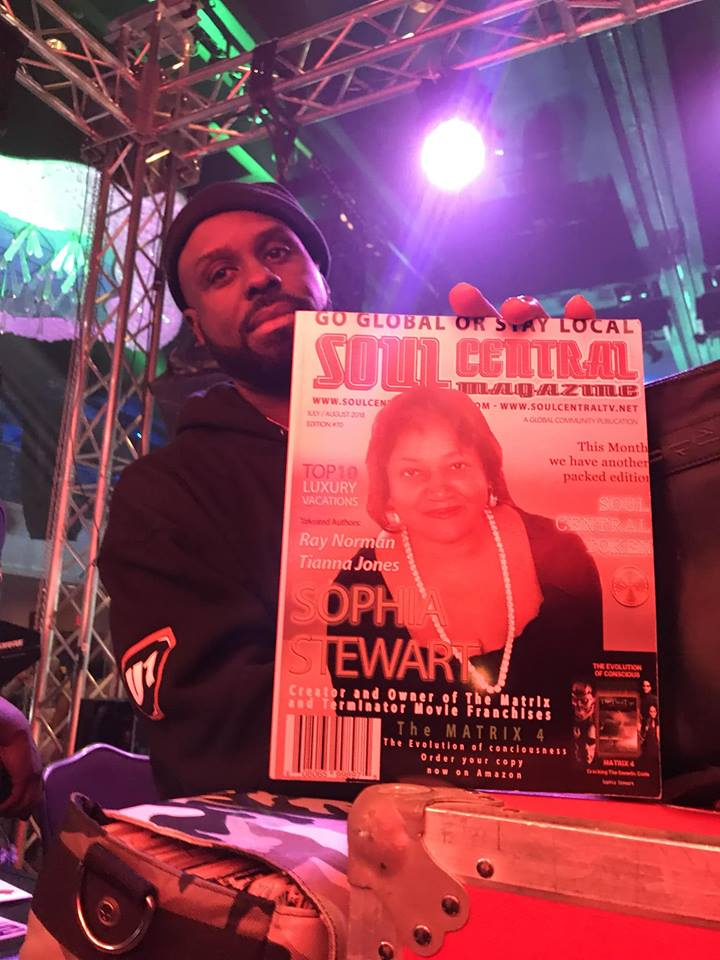 Funkmaster Flex The Legendary takes time out for Soul Central Magazine