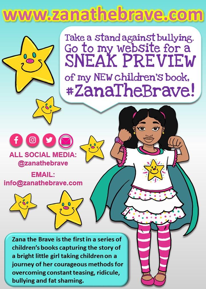 It's Time to Be Brave by Author La Tasha K. Mason / Zana the Brave