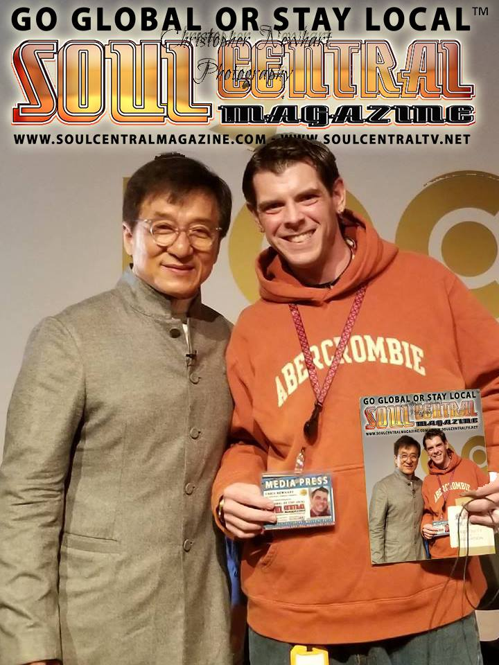 Jackie Chan Live with Soul Central Magazine - Soul Central Magazine