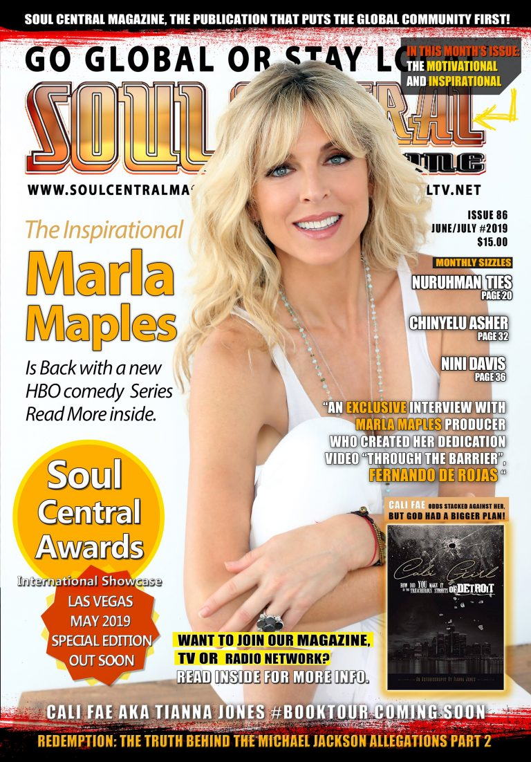 """""""Soul Central Magazine Edition #86 Marla Maples"""" OUT NOW💥"""