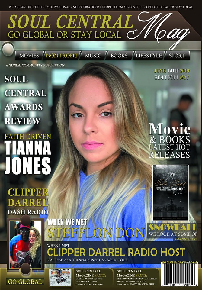 Soul Central Magazine Edition 87 #Cali Fae #Author OUT NOW!
