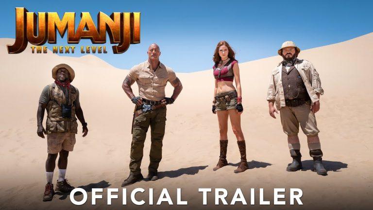 JUMANJI: THE NEXT LEVEL – Official Trailer