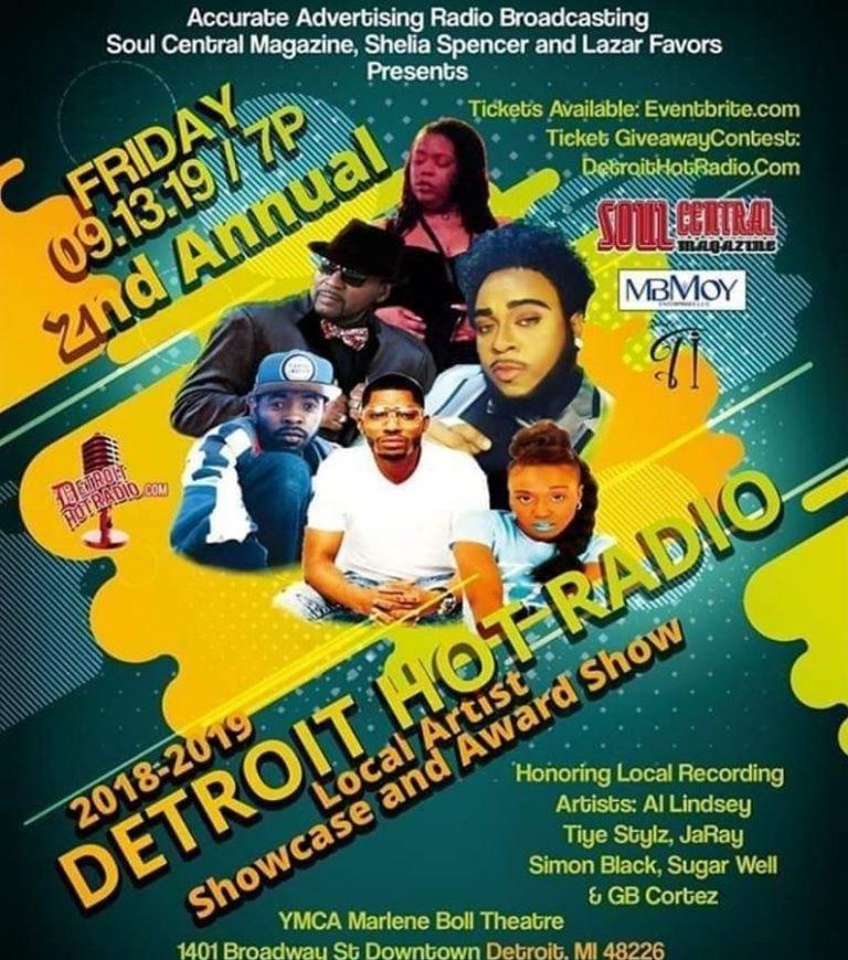 Detroit Hot Radio 13th Sept 2019 Showcase – Update