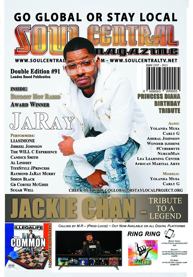 Soul Central Magazine Edition 91 Indie Artist JaRaY Edition
