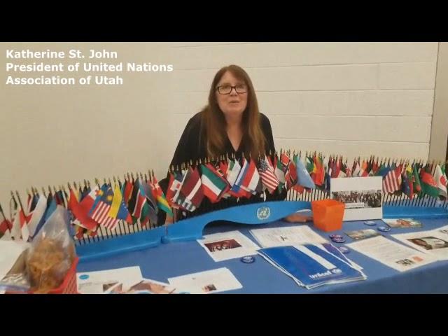 Katherine St. John President of United Nations Association of Utah #TrendingToday