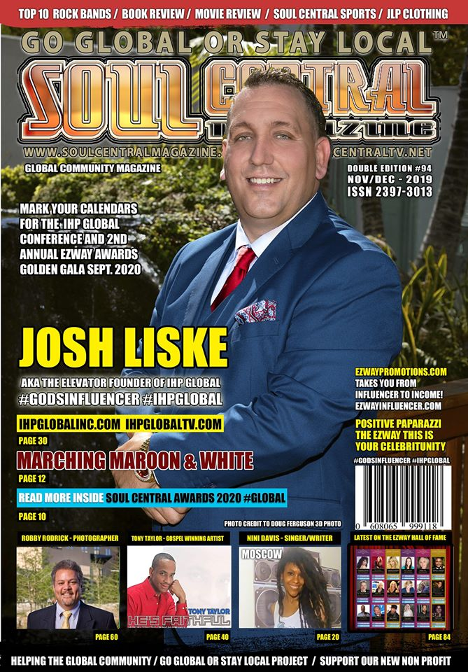 Soul Central Magazine Josh Liske #Edition #94