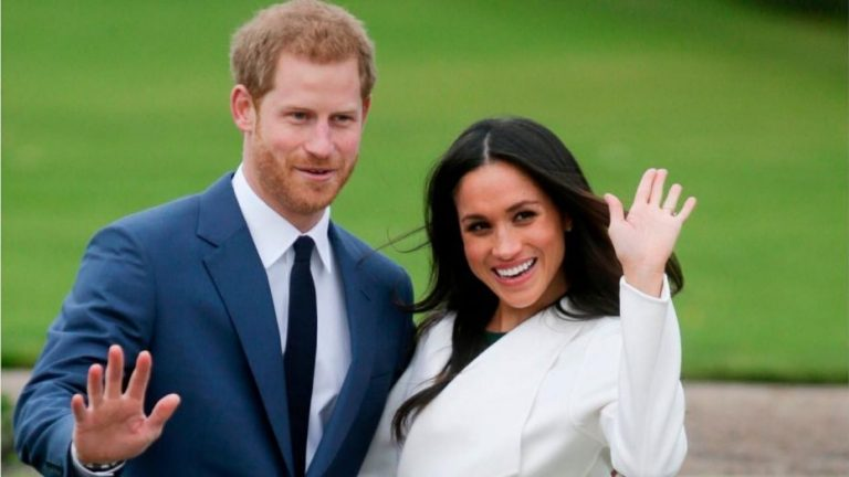Prince Harry and Meghan Markle announce they will 'step back' from royal duties