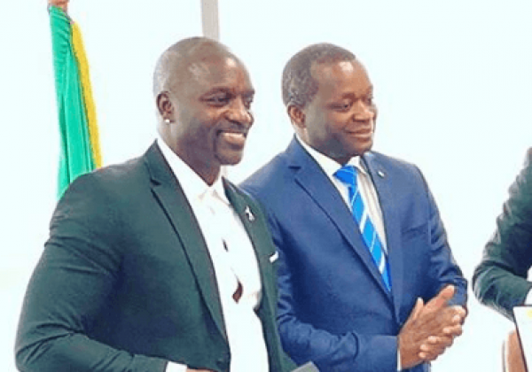 Akon just invested $300 Million to start Akon City in Senegal, Africa