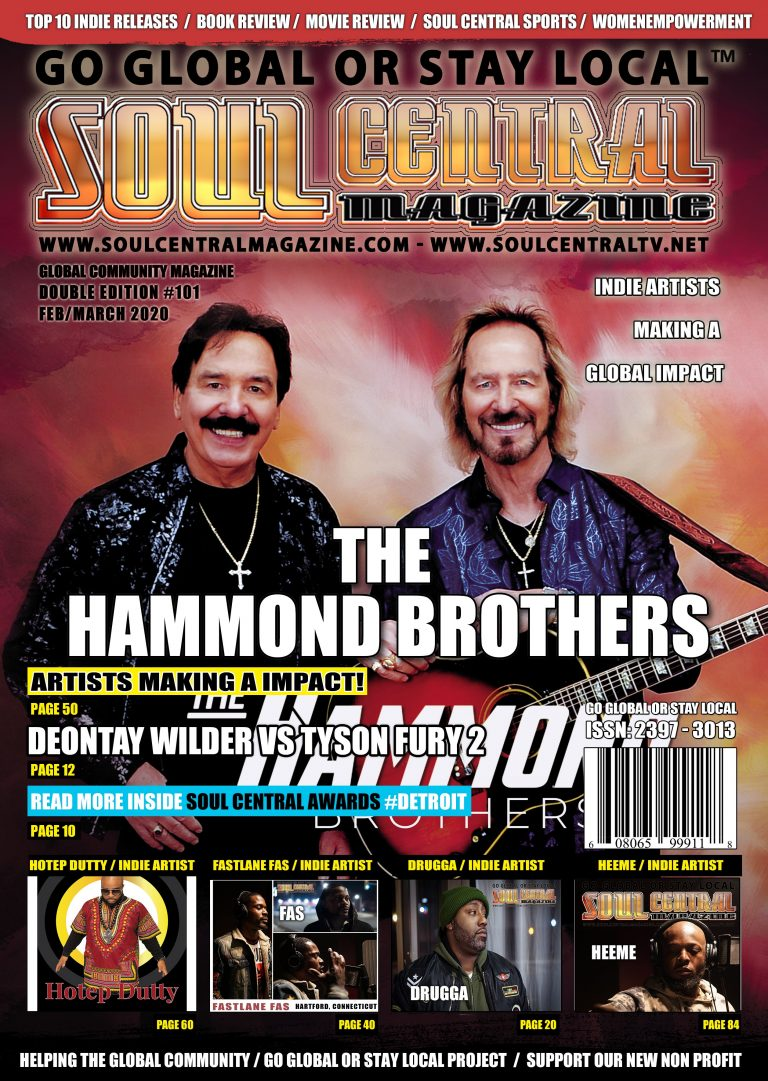 Soul Central Magazine – #The Hammond Brothers #Edition #101